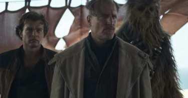 Alden Ehrenreich Woody Harrelson Joonas Suotamo Solo A Star Wars Story