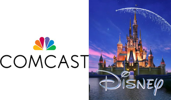 Comcast The Walt Disney Company Logos