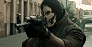 Masked Gunman Casio G Shock Watch Sicario Day of the Soldado