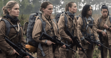 Natalie Portman Jennifer Jason Leigh Tessa Thompson Tuva Novotny Gina Rodriguez Annihilation