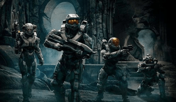 Master Chief Soldiers Halo