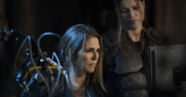 Paige Turco Ivana Milicevic The 100 Sic Semper Tyrannis