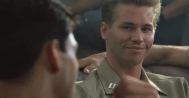 Tom Cruise Val Kilmer Top Gun