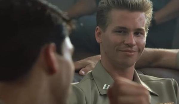Tom Cruise Val Kilmer Top Gun