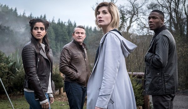 Jodie Whittaker Bradley Walsh Tosin Cole Mandip Gill Doctor Who Season 11