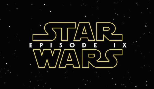 Star Wars Episode 9 Fan Logo