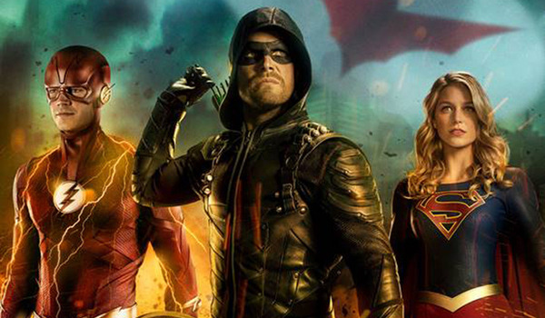 2018 Arrowverse Crossover TV Show Poster