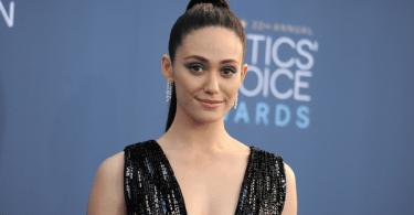 Emmy Rossum Critics Choice Awards Red Carpet