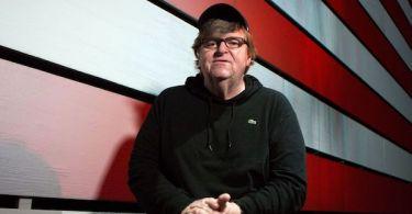 Michael Moore American Flag