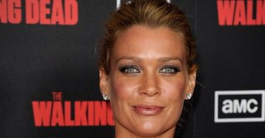 Laurie Holden The Walking Dead Premiere