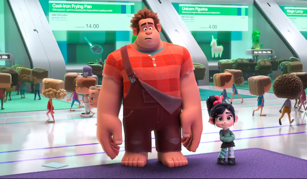 Check Out the New RALPH BREAKS THE INTERNET Trailer