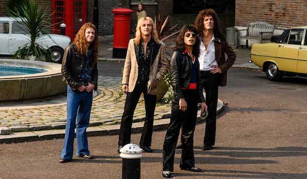 Rami Malek Gwilym Lee Ben Hardy Joseph Mazzello Bohemian Rhapsody