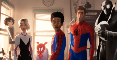Six Spider-Men Spider-Man Into the Spider-Verse