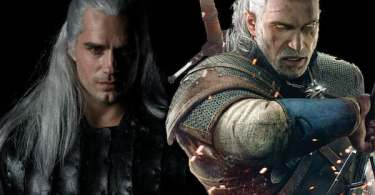 Henry Cavill Geralt of Rivia The Witcher TV Series Video Gane