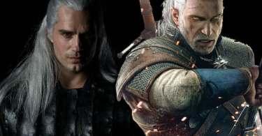 Henry Cavill Geralt of Rivia The Witcher TV Series Video Gane