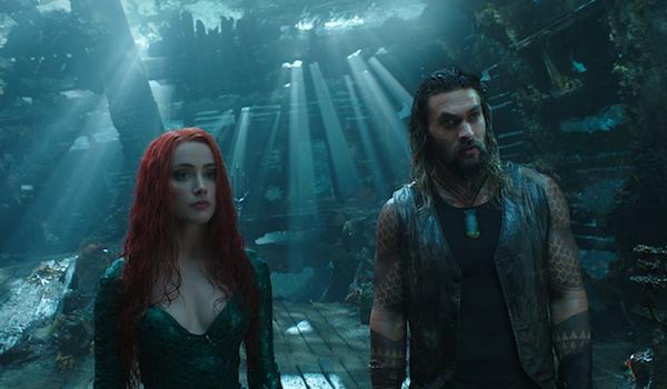 Jason Momoa Amber Heard Aquaman