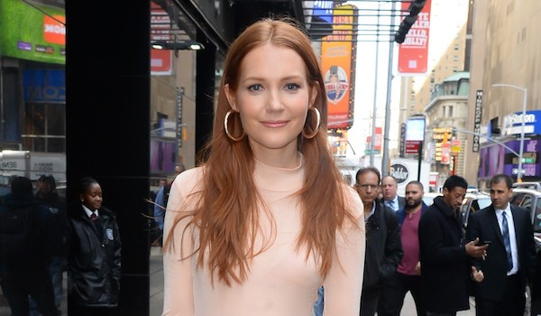 Darby Stanchfield Hair Down Street