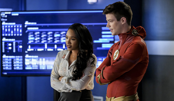 Grant Gustin Candice Patton The Flash All Doll'd Up