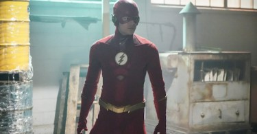 Grant Gustin The Flash Seeing Red