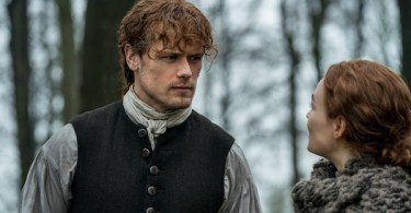 Sam Heughan Sophie Skelton Outlander The Deep Heart's Core