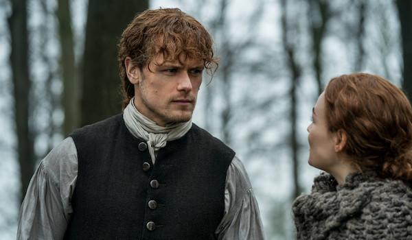 Sam Heughan Sophie Skelton Outlander The Deep Heart's Core