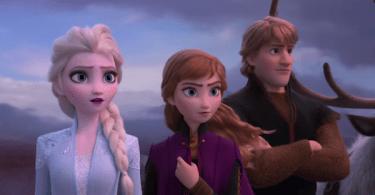 Anna Elsa Kristoff Frozen 2