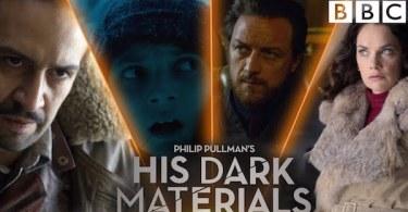 Dafne Keen James McAvoy Lin-Manuel Miranda Ruth Wilson His Dark Materials