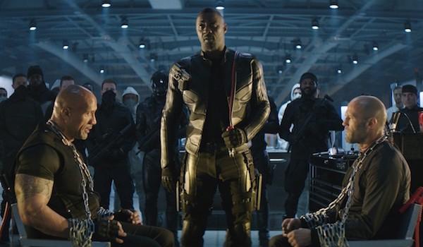Dwayne Johnson Jason Statham Idris Elba Hobbs & Shaw