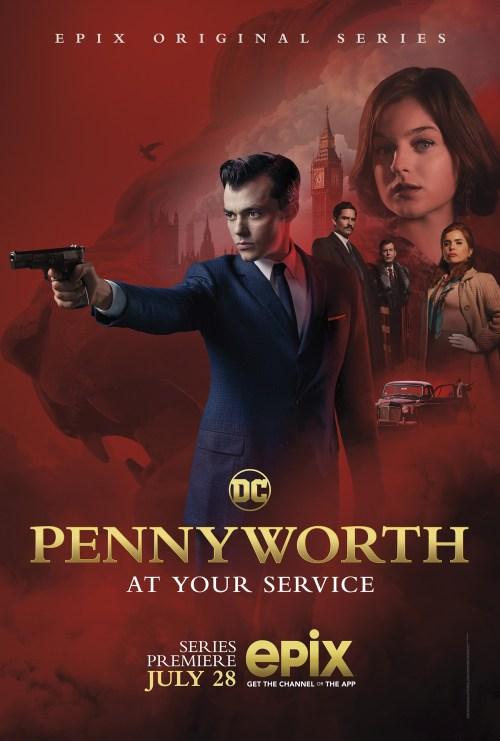 PENNYWORTH (2019) TV Show Trailer 3, TV Spots, & Poster: Jack Bannon