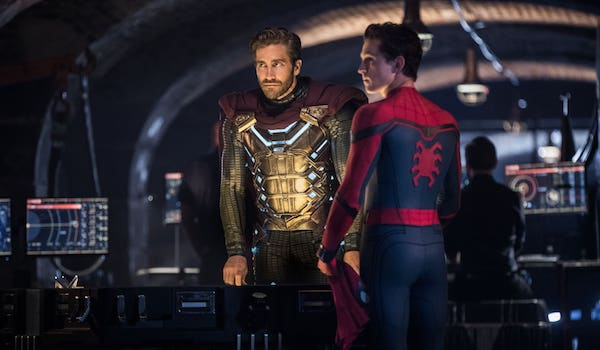 Tom Holland Jake Gyllenhaal Spider-Man Far From Home