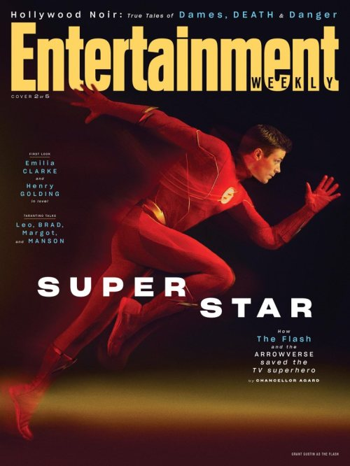 The Flash Arrowverse Entertainment Weekly August 2019 Cover