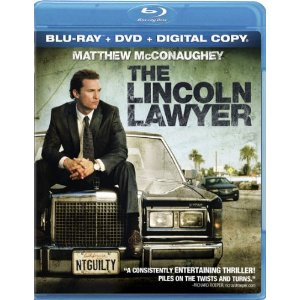 The Lincoln Lawyer, Blu-ray Cover