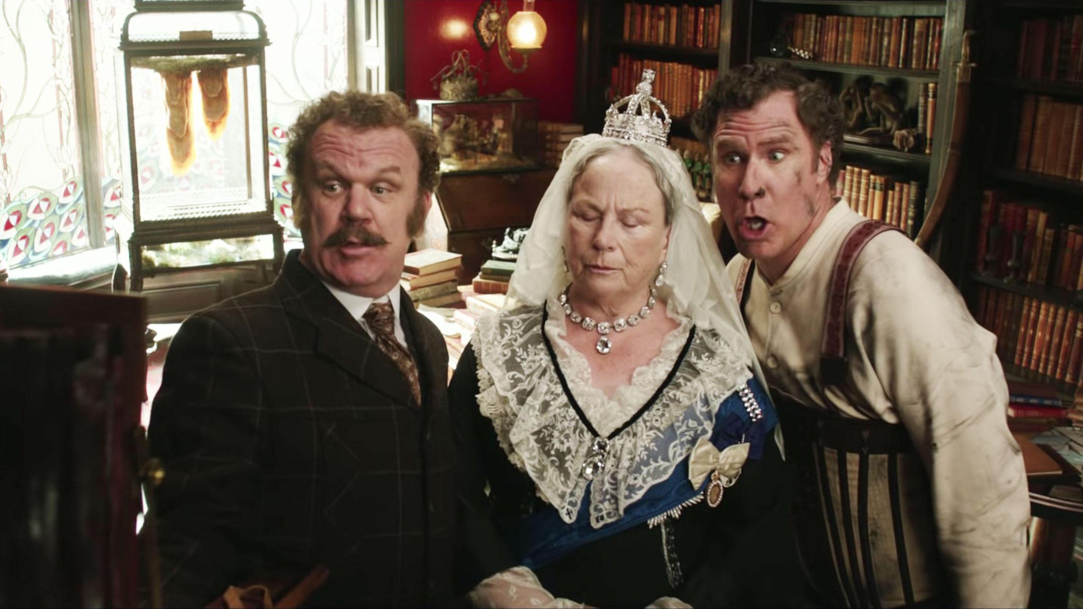 Holmes and Watson trailer breakdown; Sherlock, comedy, Will Ferrell, John C Reilly