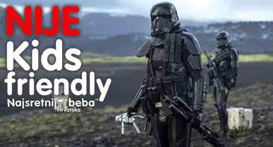 Kids Friendly – Rogue One – Priča iz Ratova zvijezda ; Ustupila IB