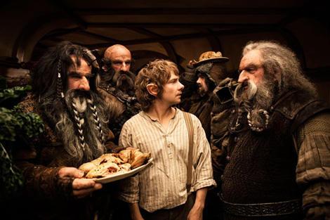 Martin Freeman jako Bilbo Baggins