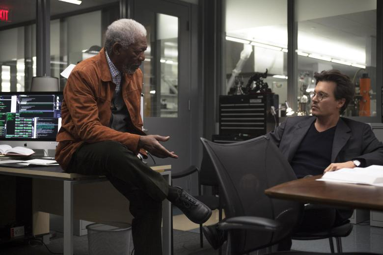 still-of-johnny-depp-and-morgan-freeman-in-transcendence-(2014)