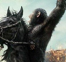 """PLAKAT – """"Ewolucja planety małp"""""""
