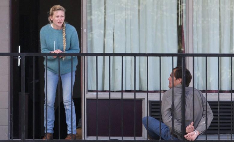 Exclusive... Kirsten Dunst & Michael Shannon Break Free!