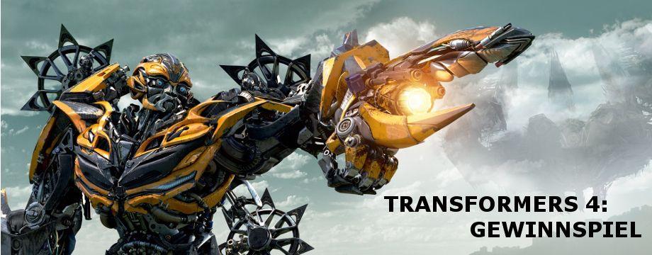 Transformers 4 - Gewinnspiel