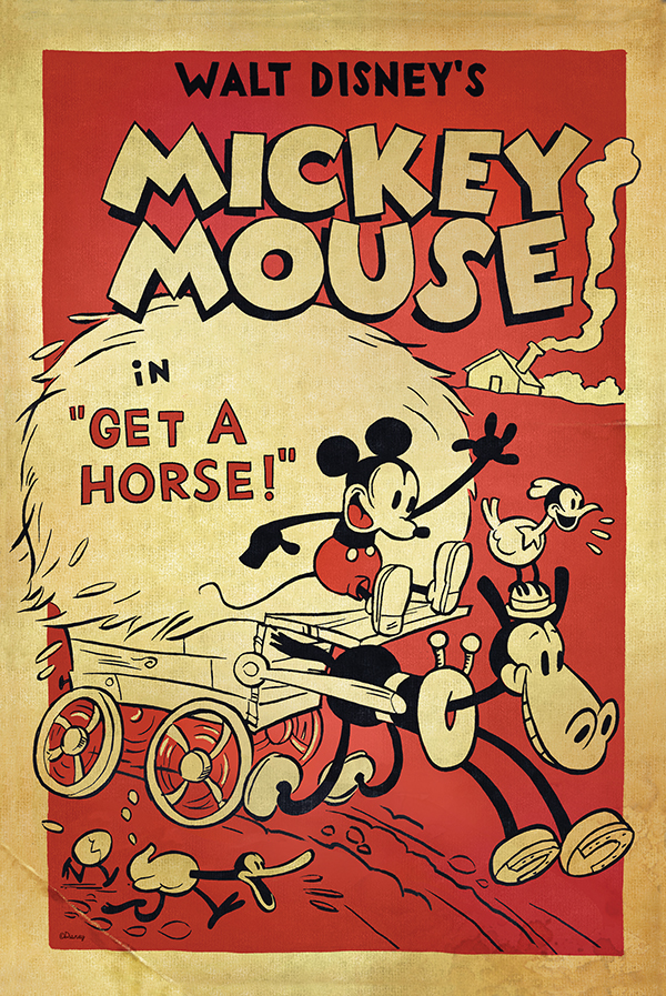 Mickey get a Horse