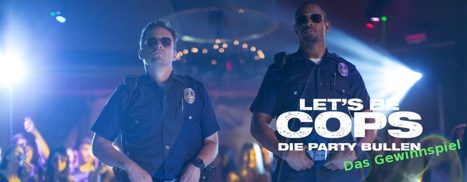 Lets be Cops - Gewinnspiel