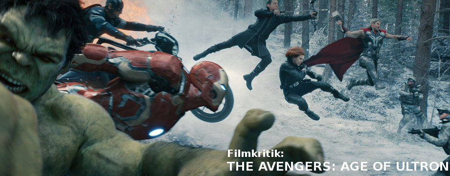 AVENGERS: AGE OF ULTRON - Filmkritik