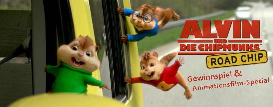 Alvin und die Chipmunks: Road Chip - Gewinnspiel