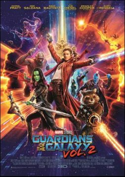 Guardians of the Galaxy 2 - poster