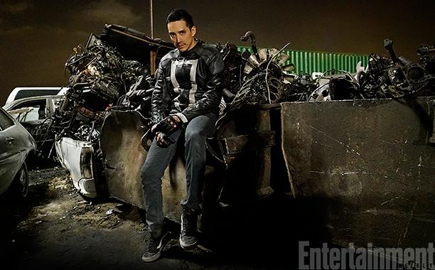 Gabriel Luna als Ghost Rider in Agents of Shield