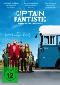Captain Fantastic - DVD-Cover