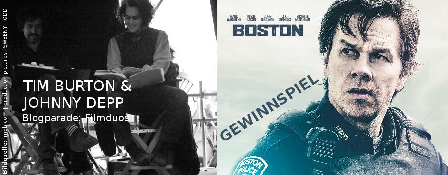 Boston - Gewinnspiel | Tim Burton & Johnny Depp Special