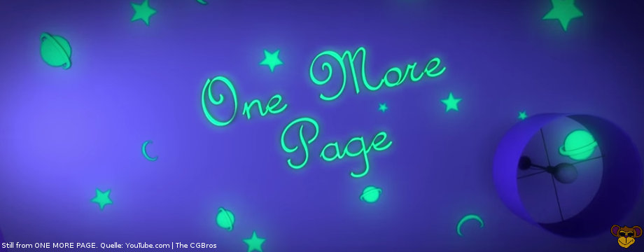 One More Page - Short Movie