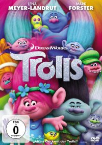Trolls (2017) - DVD-Cover