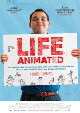 Life animated - poster
